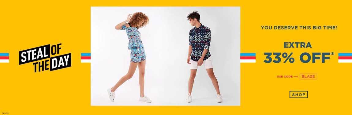 Get upto 70% off on Fashion