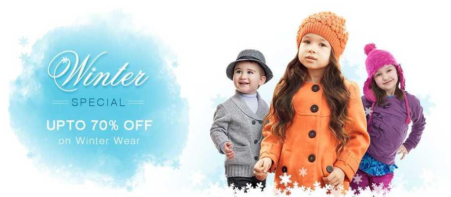 GET MINIMUM 40% - 70% OFF FirstCry Winter Wear