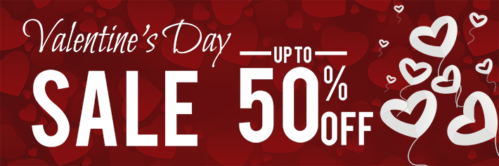 50% off on Valentine Day Special Offers