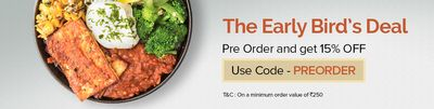 Freshmenu  Offer : Get 20% off on minimum purchase of Rs. 400