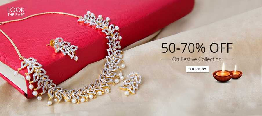 Get 50% off on Jewellery
