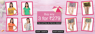 Get Joggers starting from Rs. 299