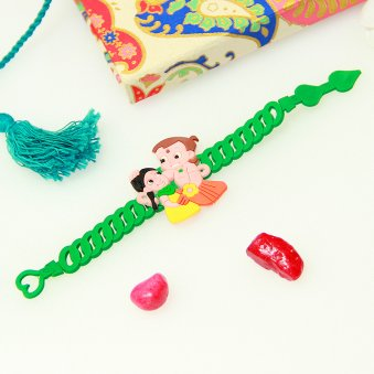 Chota Bheem Fancy Rakhi Online for Younger Brother