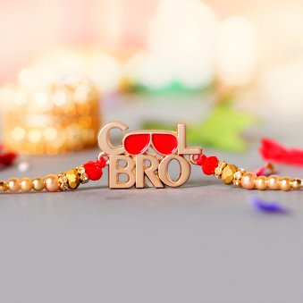 Cool Bro Metal Quirky Rakhi