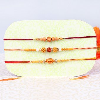 The Spiritual Protection Chandan Rakhi Online
