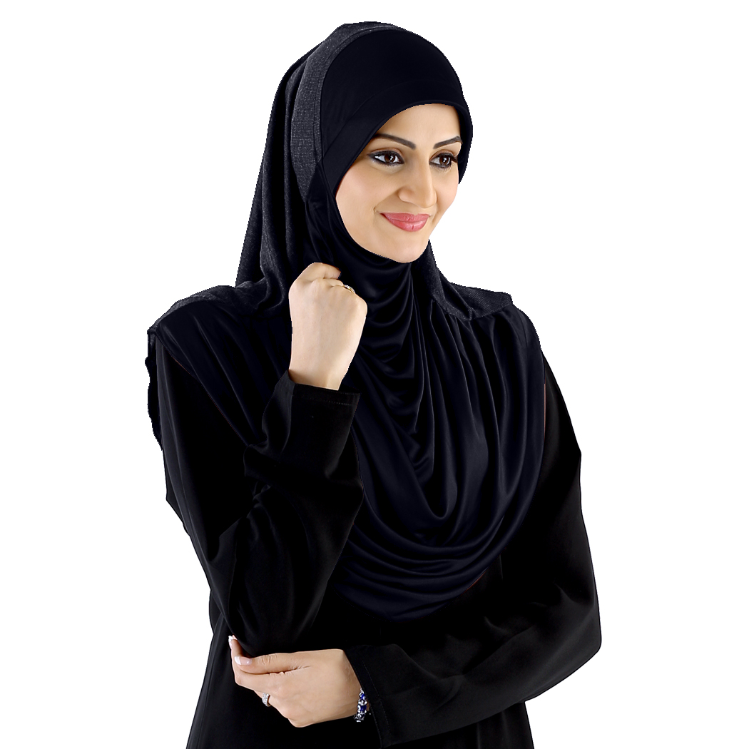 Ready to wear modest hijab Faeezah Navy -xl