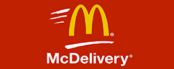 Get a McChicken/McVeggie free on purchase of above Rs.375